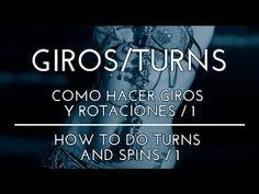 TÉCNICA DE GIROS EN LA DANZA DEL VIENTRE Y TRIBAL FUSIÓN. COMO HACER GIROS Y ROTACIONES / 1. - YouTube