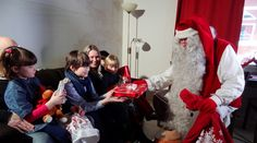 Christmas House Santa: Visit of Santa Claus in cottage of Santa Claus Holiday… Santa Claus Photos, Santa Claus Village, Lapland Finland, Visit Santa, Christmas Photos, Christmas Tree, Arctic Circle, Photo Galleries, Places To Visit