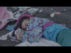 Where Young Syrian Refugees Sleep - YouTube
