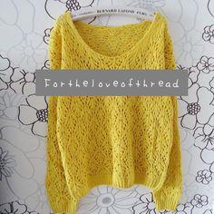 #theloveofthread.storenvy.com                       #love                     #Golden #Yellow #Knit #Sweater #from #Love #Thread  Golden Yellow Knit Sweater from For the Love of Thread                                                  http://www.seapai.com/product.aspx?PID=1443659
