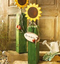 Noch mehr dekorative Holzpfosten | TOPP Bastelbücher online kaufen