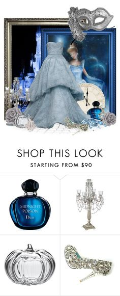 Disney Style : Cinderella by miss-mariek on Polyvore featuring Christian Dior, Simon Pearce, Disney, Waterford and Masquerade