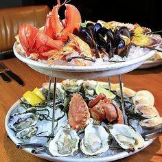 Red rock crab, jumbo shrimp, sea urchin, littleneck clams at Water Grill, 1401 Ocean Avenue, Santa Monica, CA 90401, T: 310-394-5669 - Tag your favorites with #toplarestaurants #toprestaurantsgroup #larestaurant #larestaurants lafoodie #laeats #lafood #lafoodporn #gourmet #gourmetfood #bonappetit #cheflife #cuisine #chef #foodpic #foodpics #foodie #eat #hungry #lunch #dinner #food #instafood #vsco #vscocam #vsco_hub #vsco_best #bestofvsco #f52grams #la