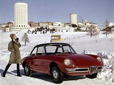 The Alfa Romeo is cool, but the rest of the scene is better.