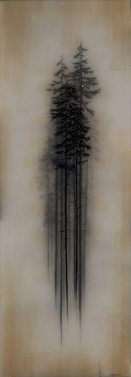 Mankes, Jan (Row of Trees - 1915)