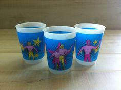 Luchador Wrestlers Plastic Cup by vivalapress on Etsy, $12.00