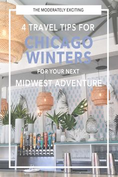 Whether you're from Chicago and want to brave winter without going crazy or are planning a weekend getaway in the near future, here are 4 tips for surviving a Chicago winter during your next Midwest travel adventure!