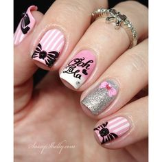 cool nail art ideas for summer 2015 ❤ liked on Polyvore