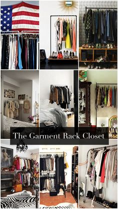 The No Closet Garment Rack Closet (19 Winning Examples + Where To Buy Them)