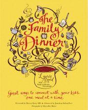 Family Dinner Book promotes the Family Dinner Challenge.