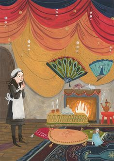 A Princesinha, illustrated by Rebecca Green