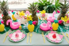 Pink Flamingo Birthday Party Pink Flamingo Birthday Party - flamingo party tableware - Inspired by This Pink Flamingo Party, Flamingo Birthday, Luau Birthday, First Birthday Parties, Birthday Party Themes, Flamingo Float, Flamingo Decor, Birthday Ideas, Flamingo Baby Shower