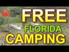 FREE Camping in Florida- RV Camping in Florida National Forest – Famous Last Words Camping In The Woods, Camping With Kids, Camping Games, Rv Camping, Osceola National Forest, Carlsbad Caverns New Mexico, Cold Water Shower, White Sands New Mexico, Anthem Of The Seas