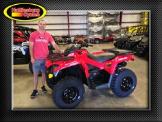 Thank you Jeremiah Fontenot from Luling LA for getting a 2017 Can-Am Outlander 450 #canam
