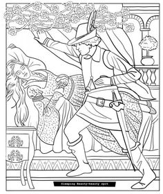 Grimms Fairy Tales Coloring Book