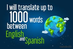 translate from English to Spanish or Spanish to English by catnisdd