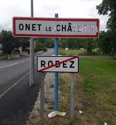 La Ville d'Onet-le-Château vient de changer de nom.