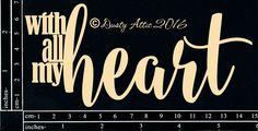 The Dusty Attic - DA1564 With All My Heart