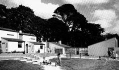 Cornish housing complex in Alverton Court Truro, Cornwall, England, UK; 1967  MWT Architects – Marshman, Warren & Taylor