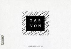 Hand Drawn Style Vintage Geometric Logo Design #LogoDesign #Wordpress #Website Header #photography #restaurant #boutique #ecommerce #branding
