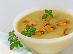 Zupa pieczarkowa – zabielany krem