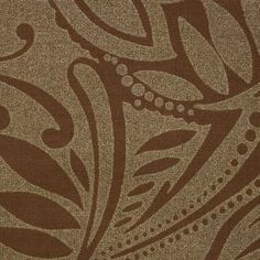 Tropical Bronze #windowtreatments #windows #modernwindowtreatments #colors #patterns #medallion #bronzeandbrown