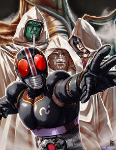 Geek Culture, Kamen Rider, Godzilla, Raiders, Character Design, Hero, Anime, Fictional Characters, Wallpaper