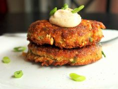 Creole Salmon Cakes with Hot Mayonnaise - Creole Contessa
