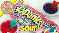 "KaDunks Chewy Dippers Gummi Candy & Sour Dip, ""Ka-Tasty!""   #KaDunksChewyDippers #GummiCandy #SourCandy"