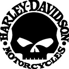 harley davidson logo (1 overlay) stencil   diy   pinterest