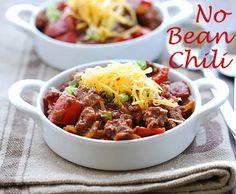 No-bean chili