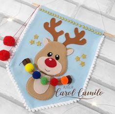 Baby Crafts, Felt Crafts, Diy And Crafts, Crafts For Kids, Christmas Mood, Xmas, Felt Keychain, Felt Christmas Stockings, Felt Applique