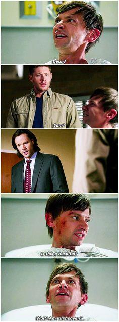 Garth, Sam, Dean 9x12 Sharp Teeth