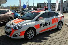HYUNDAI VELOSTER - Swiss Polizei