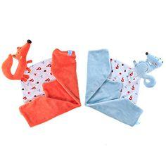 Labebe - Animal Comfort Blanket (Multicoloured) Labebe…