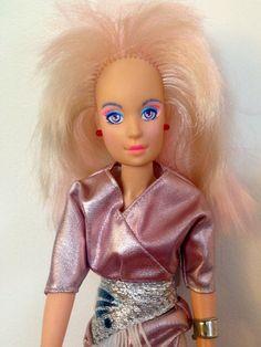 1985 Jem/Jerrica Doll by Hasbro, Jem Doll, Jem and the Holligrams, Hasbro Jem, Jem Dolls, Vintage Jem Doll, Hasbro Dolls, 1980's Dolls, Jem by Lalecreations on Etsy