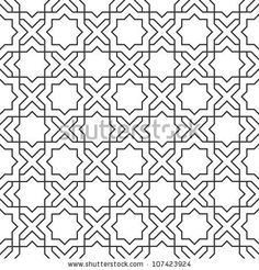 Delicate pattern in islamic style.Seamless vector by A-R-T, via Shutterstock