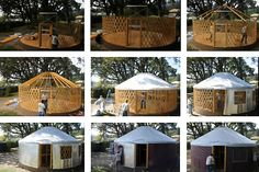 Yurt Houses   What is a Yurt?   Round Houses   HouseLogic