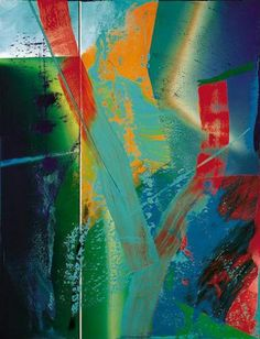 "Gerhard Richter, ""Abstract Painting"",   1985, Catalogue Raisonné: 580-1. Imagen tomada de http://www.gerhard-richter.com"