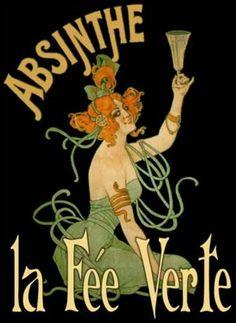 la fee verte absinthe… vintage cover