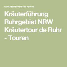 Kräuterführung Ruhrgebiet NRW Kräutertour de Ruhr - Touren