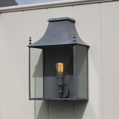 Blenheim Wall Lantern Large Weathered Zinc by A Place In The Garden Outdoor Wall Lantern, Outdoor Walls, Outdoor Lighting, Exterior Wall Light, Light Bulb, Lanterns, Sconces, Wall Lights, Rustic