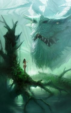ArtStation - Dragon woman, Jianli Wu