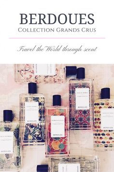 Travel the world through scent with Berdoues Grands Crus collection. Colognes inspired by the scents of far-away lands! Perfume Reviews, Smell Good, Cologne, Perfume Collection, Lovely Things, Fragrances, Favorite Things, Packaging, Branding