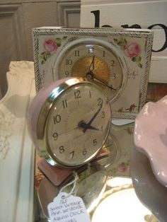 Clocks – Decor :     pink lady clocks    -Read More –   - #Clocks https://decorobject.com/decorative-objects/clocks/clocks-decor-pink-lady-clocks/
