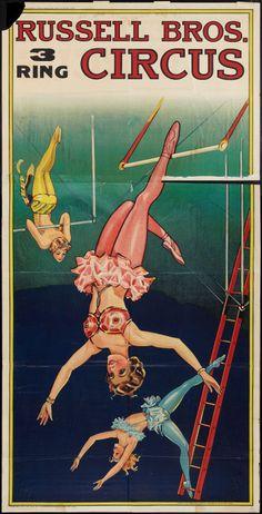 Circus Poster, Circus Art, Circus Theme, Circus Tattoo, Art Du Cirque, Photo Cutout, Circo Vintage, Circus Performers, Vintage Fishing