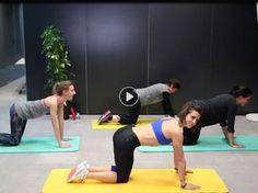 Pas motivée pour aller à la salle de gym avec ce froid ? Pas de problème ! On vous propose un vrai cours de Fitness à suivre dans votre salon avec la coach...