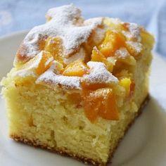 Ciasto jogurtowe z brzoskwiniami - DoradcaSmaku.pl
