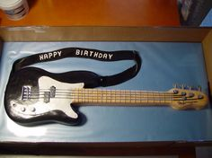 Happy Birthday bass guitar (posted for cousin Larry's b-day 2015)  JM.