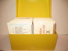 Betty Crocker Recipe Box - 1971 Complete Card Library